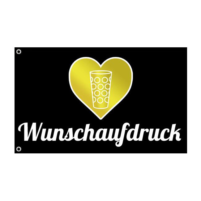 PFALZFANS Pfälzer Schorle-Weinfest-Turnbeutel Pälzer Schorle-Fahne mit Wunschaufdruck Pfalz